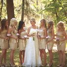 Gold Bridesmaids