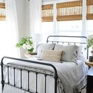 Light and Bright Vintage Style Guest Bedroom