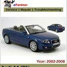 Audi A4 B7 Service Repair Manual 2002 2008   Automotive Service Repair Manual