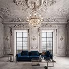 "M.Serhat Sezgin on Instagram: ""3ds max -photoshop  M.Serhat Sezgin - Zebrano Furniture #classic #3d #3dsmax #design #morocco #luxury #istanbul #decoration #decorating…"""