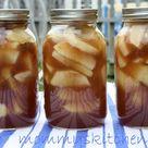 Apple Pie Filling in a Jar