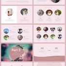 Pink - Minimal & Creative Keynote Template