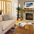 Dimplex Fieldstone Electric Fireplace Mantel Package - SMP-904-ST