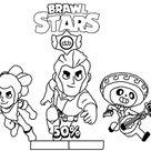 22 Ausmalbilder Brawl Stars Kostenlos Drucken - Ausmalbilder Für Kinder Lernen