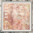 Shabby Chic sofort Download From Paris With Love lachsrosa   Etsy