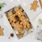 Rezept einfache Weihnachtsplätzchen Lebkuchenmänner zum Ausstechen