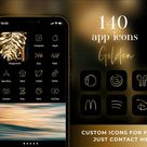 600 Aesthetic App Icons for IOS 14  Rose Gold App Covers    Etsy