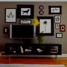 Tv Gallery Walls