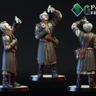 Regis by Polly Grimm (Free miniature)