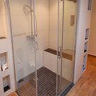 Moderne, ebenerdige Dusche bauen mit Qboard