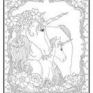 Kleurplaat Eenhoorn   Download gratis eenhoorn kleurplaten