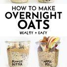 Healthy Overnight Oats