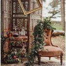 Norfolk styled shoot- Boho Luxe Wedding Inspiration - The Outside Bride