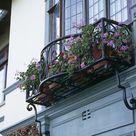 Wrought Iron Window Boxes