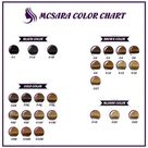 A-to-Z Hair Color Chart To Find The Best Shade For Your Weave Hair Extensions