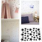 £0.99 GBP - Stars Removable Vinyl Wall Sticker Decal Kids Room Bedroom Nursery C #ebay #Home & Garden