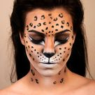 Cheetah Face Paint