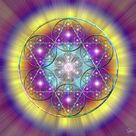 Sacred Geometry 40 by Endre Balogh