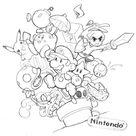 Nintendo collage by yujai on DeviantArt