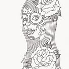 Free Printable Day of the Dead Coloring Pages - Best Coloring Pages For Kids