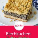 Sylter Mohn-Streuselkuchen Rezept