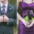 Dark Purple Wedding