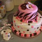 Pink Zebra Cakes