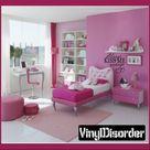 Always kiss me goodnight - Vinyl Wall Decal - Wall Quotes - Vinyl Sticker - A005AlwayskissviET
