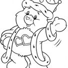 King Love A Lot Bear From Care Bear Coloring Page
