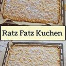 Ratz Fatz Kuchen - Sweetrecipes