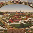 John Rasmussen, 1880   Berks County Almshouse, 1880   fine art print   Poster print canvas paper / 120x100cm   47x39