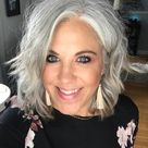 Why @silverfox40tales Ditched the Dye and Embraced Her Gray Hair