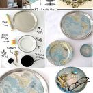 Uses For Old Maps   32 Inventive Ways To Repurpose Old Maps