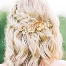 30 of the Most Elegant Wedding Short Hairstyles of August 2019
