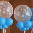 Frozen Balloon Decorations