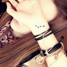 Bird Wrist Tattoos