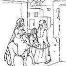 Jozef en Maria naar Bethlehem (2)