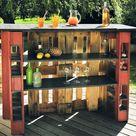 Bar selber bauen   Ideen für DIY Projekte im Außenbereich
