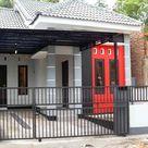 Rumah Minimalis Pintu Samping - Arcadia Design Architect