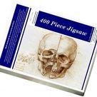 400 Piece Puzzle. Skull anatomy by Leonardo da Vinci