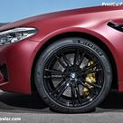 BMW M5 First Edition 2018 Poster. ID1318430