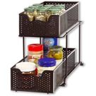 Simple Trending Can Rack Organizer, Stackable Can Storage Dispenser Holds up to 36 Cans for Kitchen Cabinet or Pantry, Bronze - Walmart.com