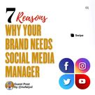 7 REASONS WHY YOU NEED A SOCIAL MEDIA MANAGER