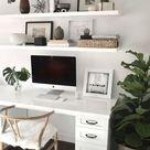 7 schöne Home Desk-Ideen machen es bequem (für gemütliches Lernen) #home Cute Desk De …