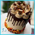 Reese's Peanut Butter Birthday Cake