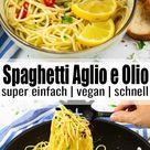 Spaghetti Aglio e Olio   Vegan Heaven