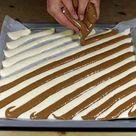 Biskuitrolle Rezept mit Mandarinen und Käse-Sahnefüllung