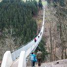 Geierlay Hängeseilbrücke – Mörsdorf, Germany. 1 hour 10  mins from Spang, 1 hour 25 mins from Ram.