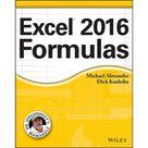 Mr. Spreadsheet's Bookshelf Excel 2016 Formulas Paperback