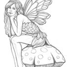 FAIRY PICTURES TO COLOUR IN